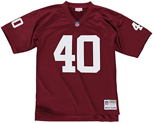 differently 67ac0 a4055 Mitchell & Ness Pat Tillman Arizona Cardinals Red Throwback Jersey