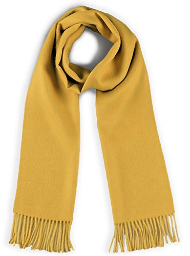 a Scarf - Bright Happy Solid & Natural Dye Free Colors (Gold) ()