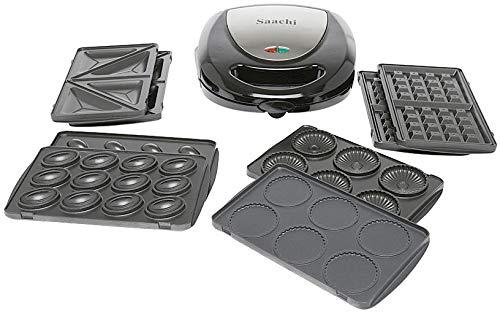 Saachi 5 in 1 Multi Snacks Maker - NL-5M-1530