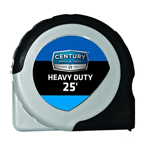Century Drill and Tool 72832 Extramark Tape Measure, 25-Foot by Century Drill & Tool