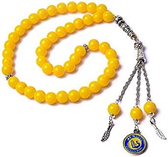 Eagal Yellow Rosary For Men