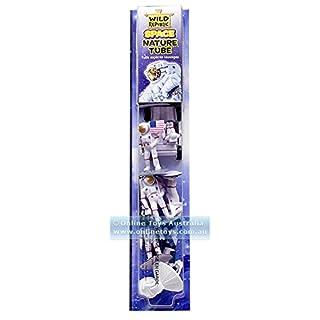 "Wild Republic Figures Tube, Outer Toys, Shuttle, Astronaut, Space Station, Apollo Spacecraft, Lunar Rover, Saturn Rocket, Satellites 1.5"" to 3"""
