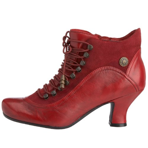 620eb499ec96 50%OFF Hush Puppies Vivianna Red Womens Ankle Boots ...