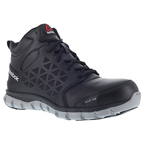 Reebok Work Men's Sublite Cushion Work Mid EH Black 14 D US