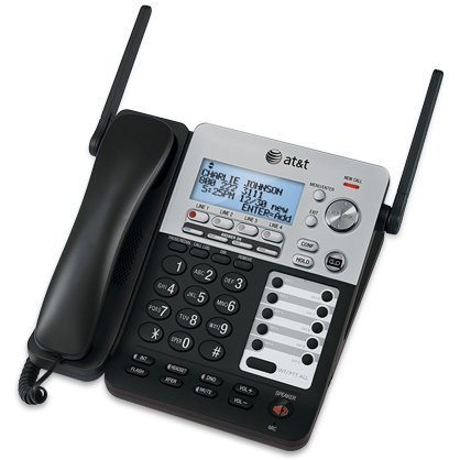 AT&T SynJ 4-Line Corded/Cordless Business Phone System with 3 Cordless Desksets & 2 Cordless Handsets Photo #2