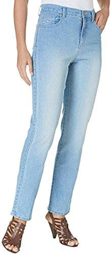 Womens Classic Blue Jeans - Gloria Vanderbilt Amanda Classic Fit Tapered Leg Women's Jeans (Color: Blue Jay) (18 Average)