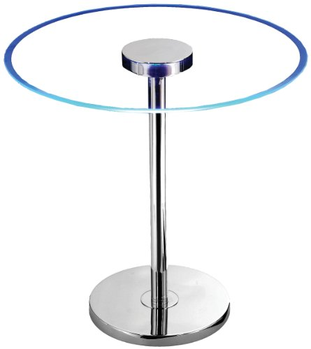 Kenroy Home 32176GCH Spectral LED Table - Futuristic Decor