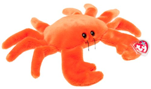 Ty Beanie Buddies Digger - Crab Orange