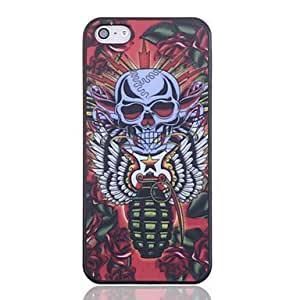 Bloody Skull Printing Back Case for iPhone 5/5S