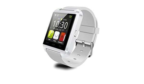 Sin marca - Smartwatch u8 Bluetooth Blanco: Amazon.es ...