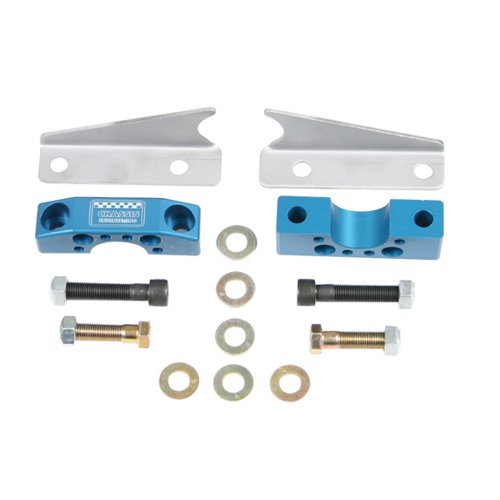 Chassis Engineering 2701 Billet Rack Mount Kit for Pinto (Rackmount Replacement Kit)