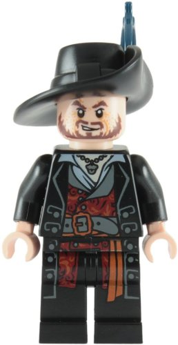 Hector Barbossa Lego Pirates of the Caribbean Minifigure -