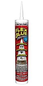 Flex Glue Strong Rubberized Waterproof Adhesive, 10-oz PRO FORMULA
