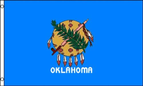 Oklahoma State 3x5 ft polyester Flag