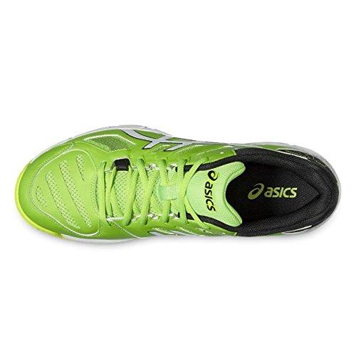 beyond Homme Jaune Tennis 5 Scurit gecko En b601n Blanc Vert Asics De Salle Chaussure Gel Pour aAwYBB