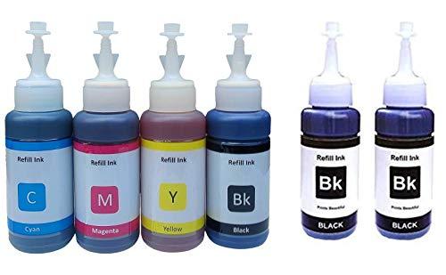 Flowjet Ink Set For Epson  Multi Color