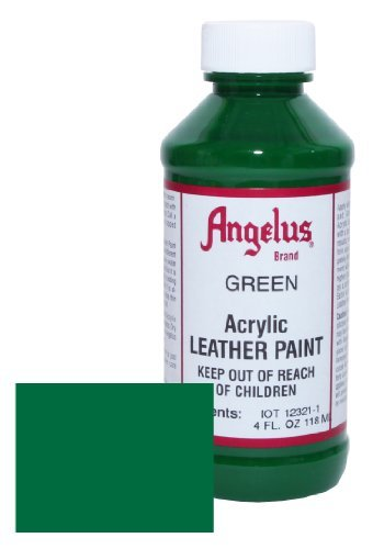 Angelus Leather Paint 4oz-Green