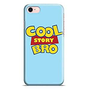 Loud Universe Cool Story Bro iPhone 8 Case Toy Story iPhone 8 Cover with 3d Wrap around Edges