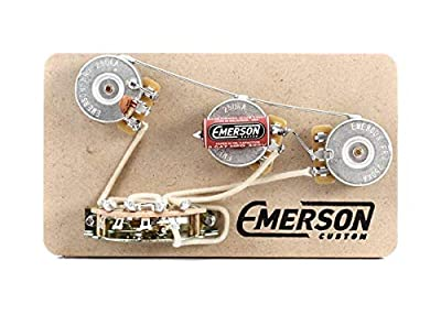 Emerson Custom 5-way Prewired Kit for Fender Stratocasters - 250k Pots from Emerson Custom