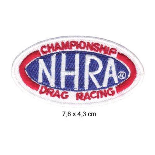 - NHRA Drag Racing USA Dragster V8 Tuning Formula 1 F1 Racing Race jacket t shirt Polo Patch Sew Iron on Embroidered