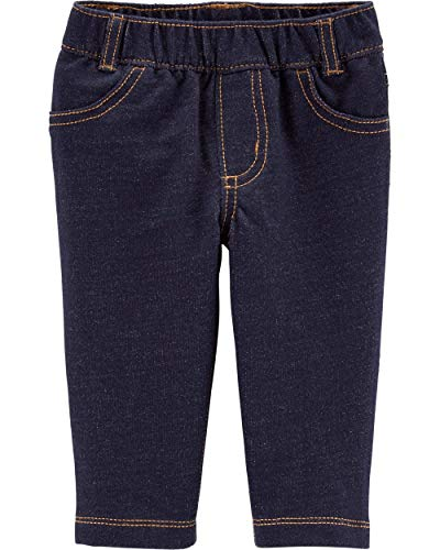 Carter's French Terry Knit denim pants 6 months