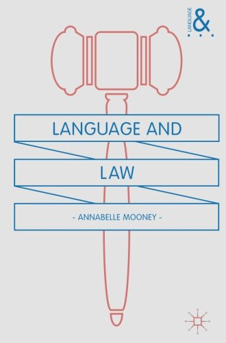 Language and Law by Palgrave