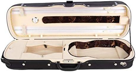 Estuche para violín madera Lord 4/4 cream M-Case: Amazon.es: Instrumentos musicales