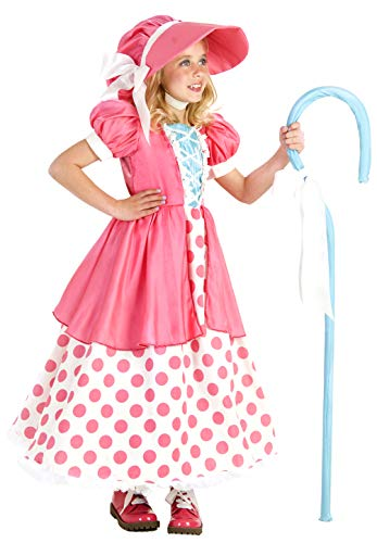 Princess Paradise Polka Dot Bo Peep Costume, Multicolor, X-Small (4)]()