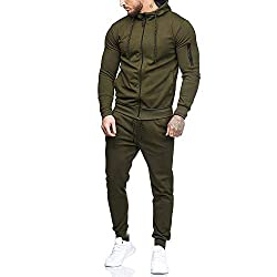 Men Jogging Tracksuit set
