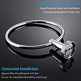 Bath Towel Ring, APLusee Stainless Steel Swivel