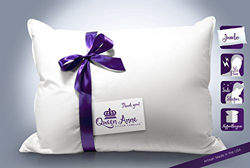 """Jumbo Dimensions Hypoallergenic Pillow - 20"""" x 28"""" Synthetic"""