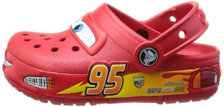 Crocs CrocsLights Cars, Boys' Clogs - Red (Red), 8 UK Child (24-25 EU)