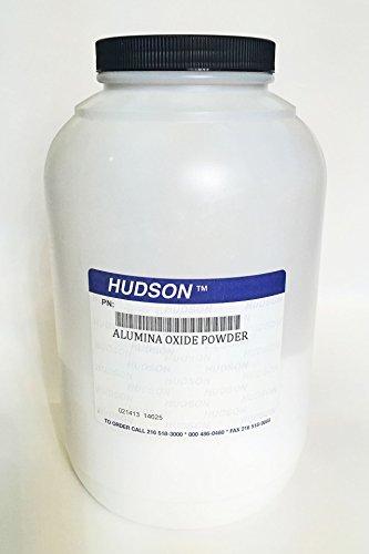 HUDSON Alumina Oxide Powder 5 Lb. 3 Micron
