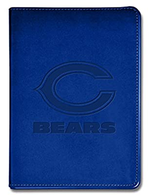 """National Design NFL Chicago Bears Executive Journal - 5 1/2"""" x 8"""" - Blue - 100 Pages (14313-NFL-QUE-B)"""
