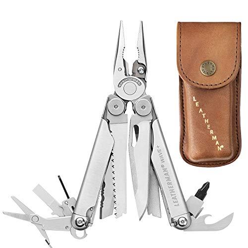 Leatherman 832556 Wave Plus Heritage Multi-Tool and Leather Sheath