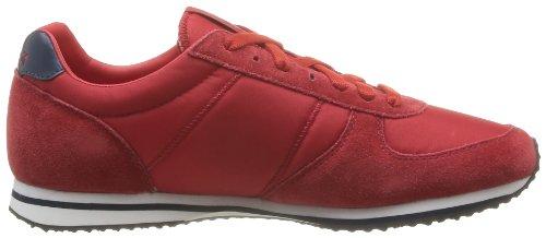 mode homme Bolivar Baskets Sportif Coq Red Le Rouge Vintage IxwqXan