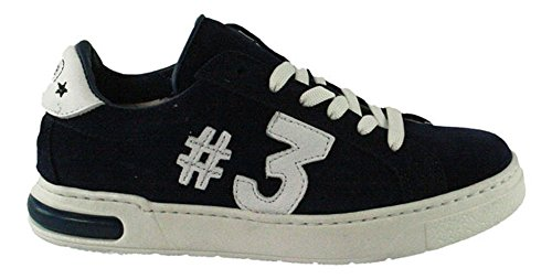 HIP | Jungen Sneaker | #3 - blau | donker blauw, Farbe:blau;Größe:41