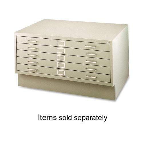 Distributors Blueprint - Safco Products 4995TSR Flat File Closed Base for 5-Drawer 4994TSR Flat File, sold separately, Tropic Sand