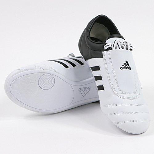 adidas® KICK Schuhe Martial Arts Sneaker Weiß mit schwarzen Streifen