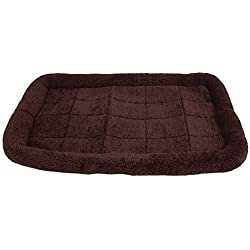 SNOOZZY BROWN 35X21.5 BOLSTER CRATE MAT