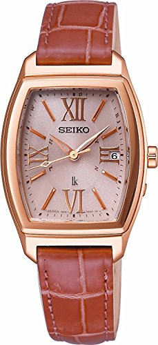 SEIKO WATCH watch LUKIA Rukia Solar radio correction curve sapphire glass super clear coating for everyday life waterproof SSVW032 Ladies