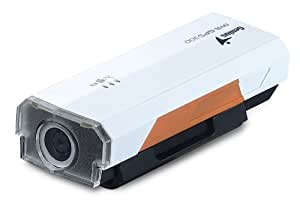 Genius DVR-GPS300 - Cámara deportiva (640 x 480 Pixeles, 640 x 480 Pixeles, AVI, CMOS, 640 x 480 Pixeles, microSD (TransFlash), microSDHC)