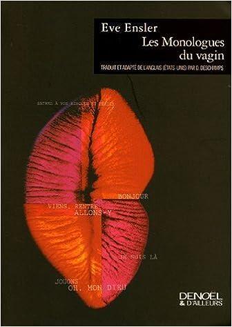 Eve Ensler - Les Monologues du vagin sur Bookys
