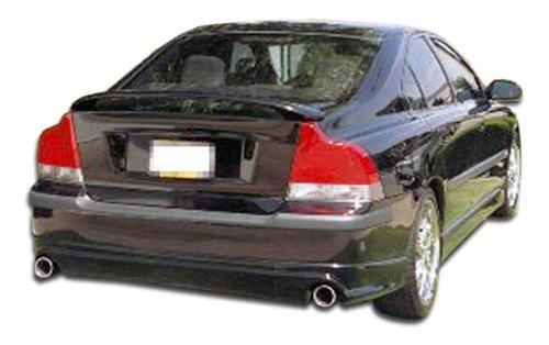 Volvo S60 Rear Spoiler (2001-2004 Volvo S60 Duraflex Speedzone Rear Lip Under Spoiler Air Dam - 1 Piece (Overstock))