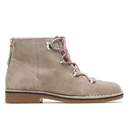 (Hush Puppies Catelyn Hiker Boot Women 8.5 Taupe Suede)