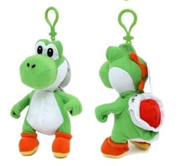 Mario Plush Keychain (Yoshi Plush Coin Bag)