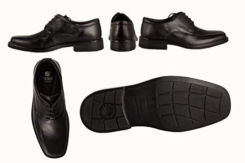 Eleganti Uomo Nero Pelle Business Per In Scarpe Calzature Zerimar qa1zW