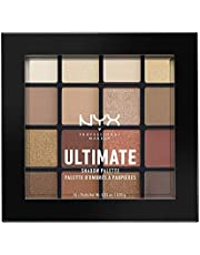 NYX Professional Makeup Ultimate Shadow Palette - Warm Neutrals, Smart Mouth