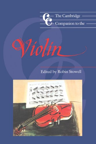 The Cambridge Companion to the Violin (Cambridge Companions to Music) by Brand: Cambridge University Press
