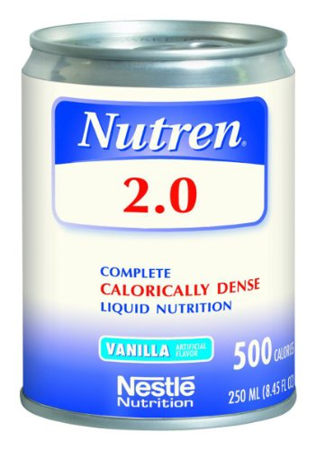 Nutren 2.0 Vanilla/500/250 ml/Case of 24 by Nestle